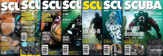 SCUBA magazine.