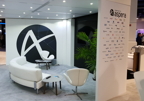 Aspera NAB Trade show