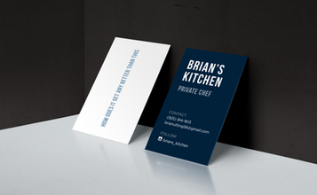 Brian's Kitchen Business Card