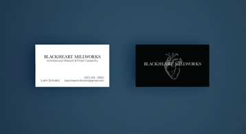 Blackheart Business Card