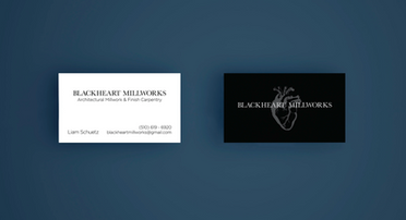 Blackheart Business Card