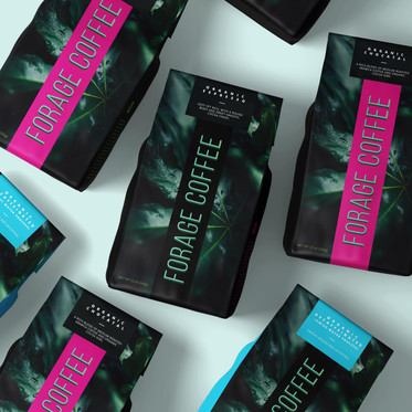 Forage Coffee Packaging
