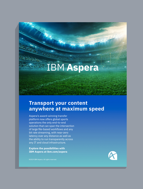 IBM Aspera Sports Campaign