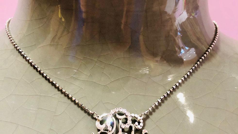 Collier Arabesque petit modèle argent