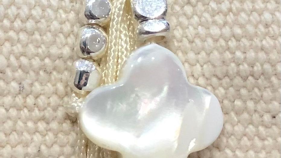BG bracelet blanc