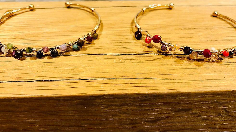 Bracelets calliope serti Or