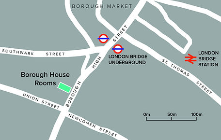 London Bridge Therapy Rooms location map