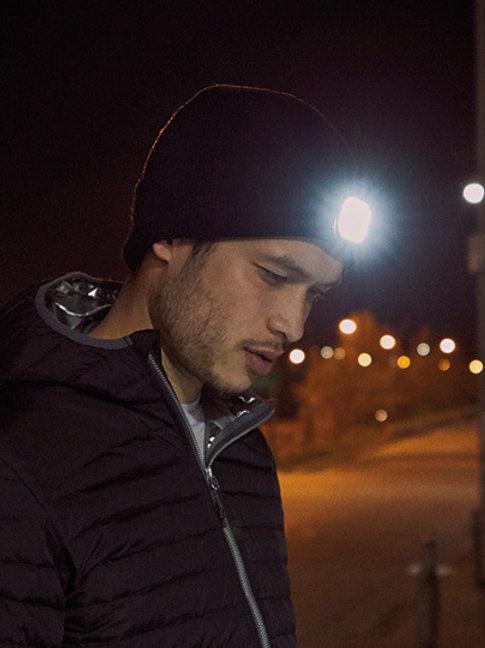 Mighty LED Knit Beanie