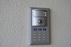 Videotürsprechanlage mit Keypad