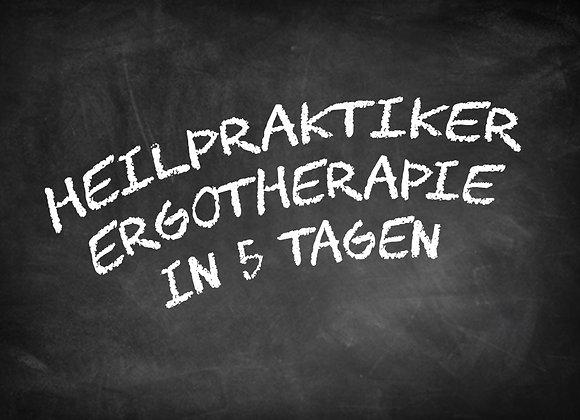 Heilpraktiker Ergotherapie