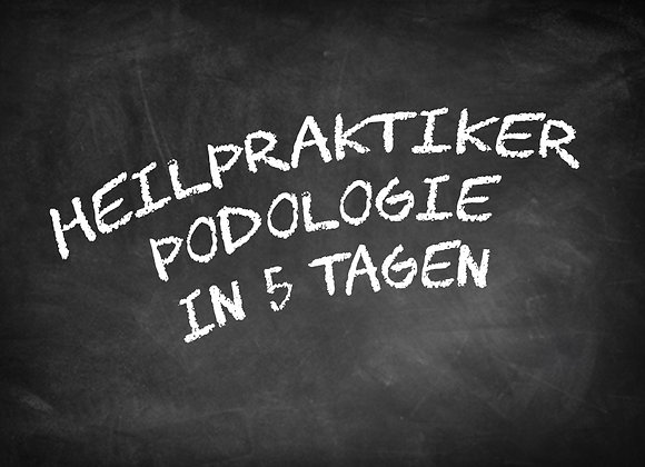 Heilpraktiker Podologie