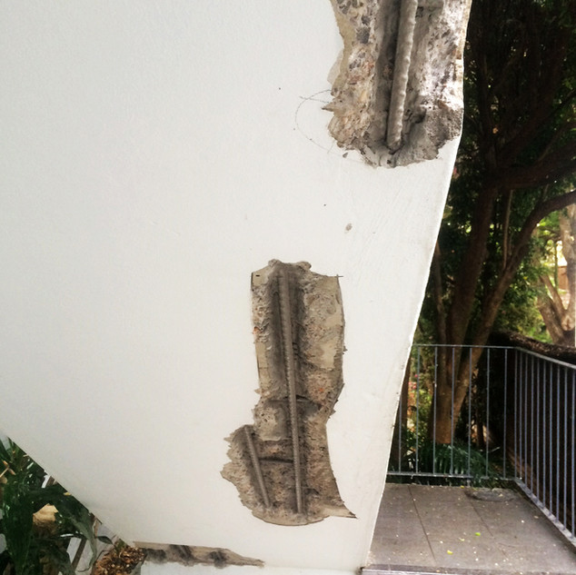 Concrete Spalling Repair