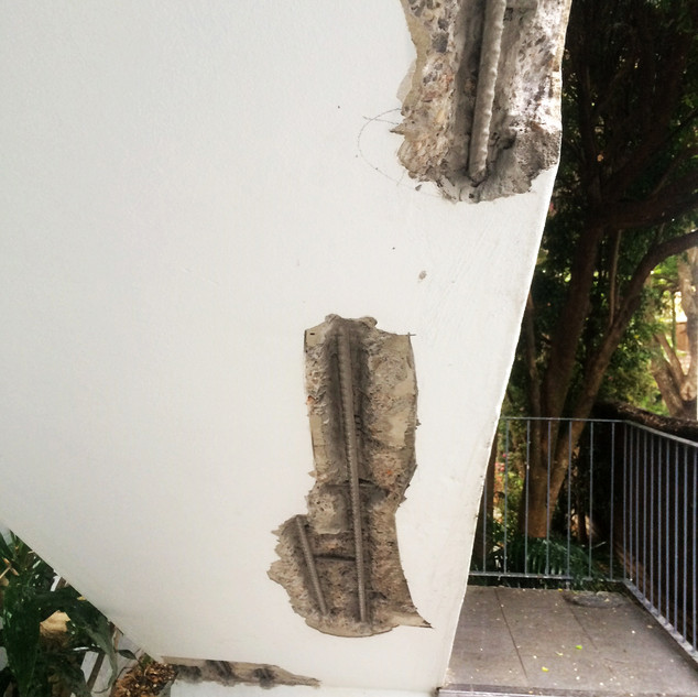 Concrete Spalling Repair