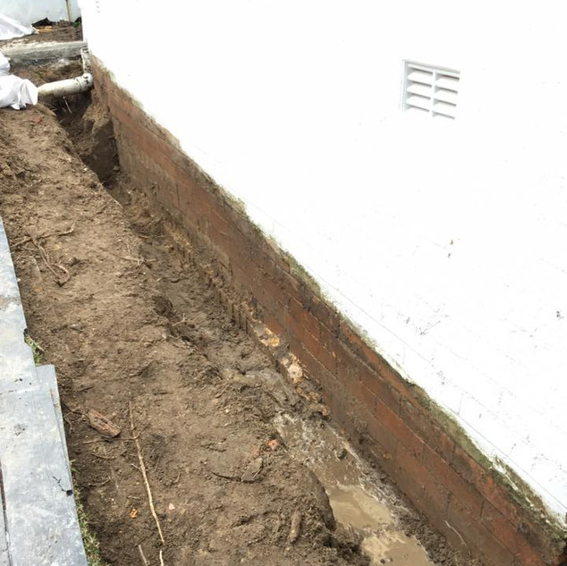 External Waterproofing & Drainage
