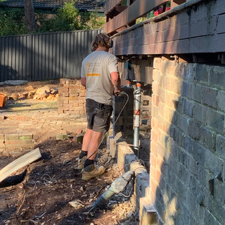 Brick Pier Replacement