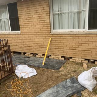 Remove Salt Damaged Bricks