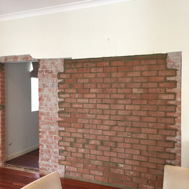 Move Internal Brick Wall