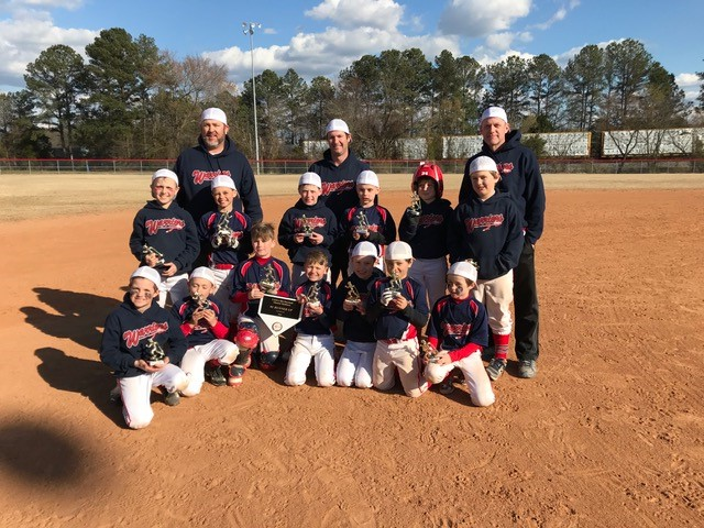 9U Warriors Mound Madness Runner Up