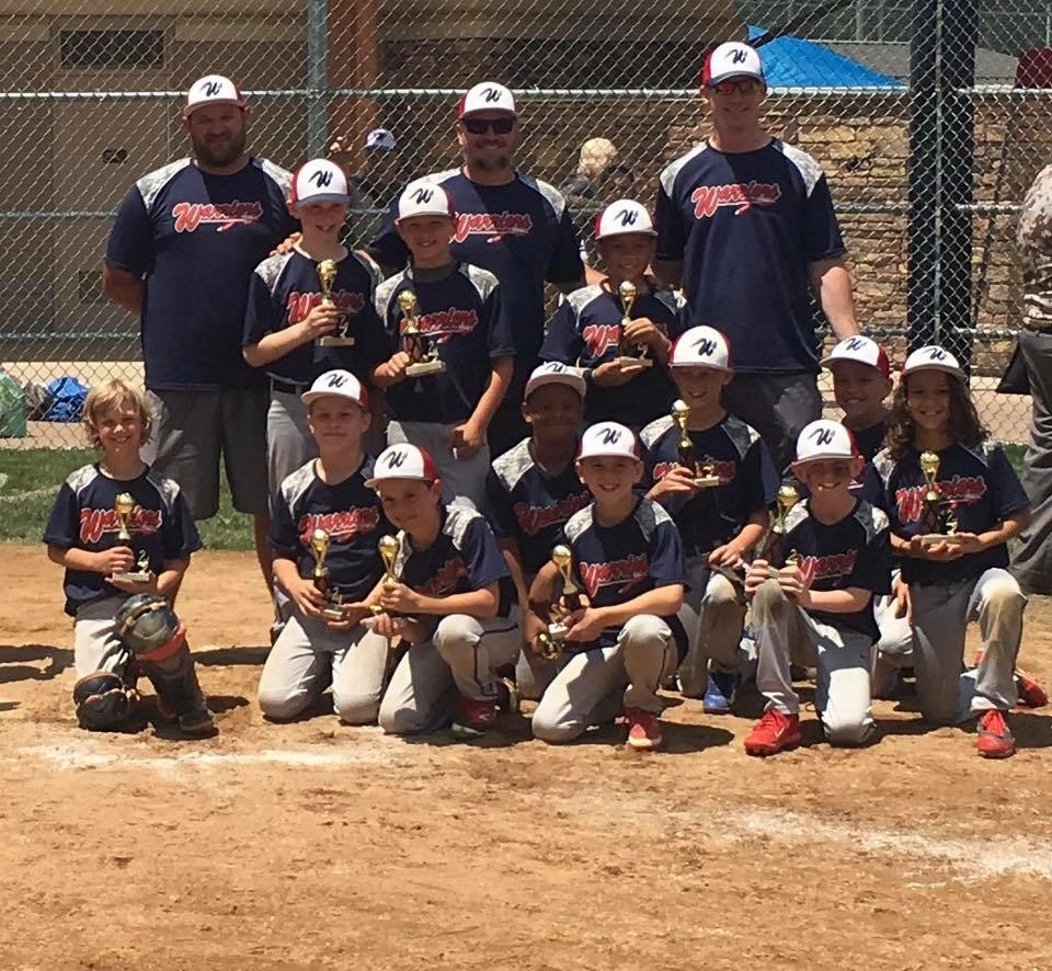 Memorial Day Slugfest Runner-Up - 9U - 2017