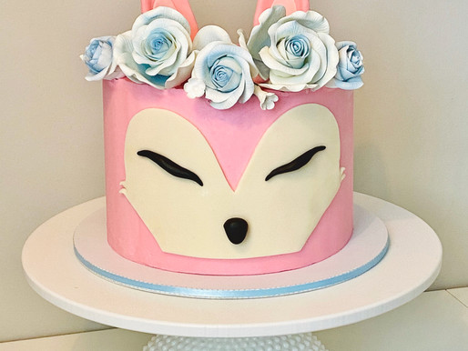 Sweet Fox Cake #TipTuesday
