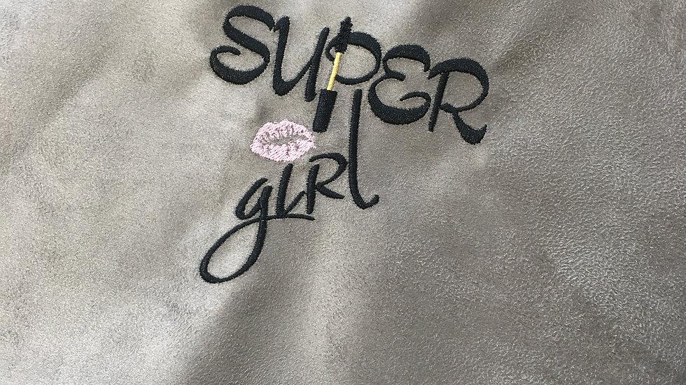 Coupon Brodé Super Girl