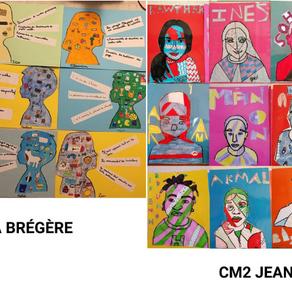 1ers Autoportraits : on vous présente les CM2 de La Brégère et de Montalat (Limoges) !