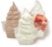 גלידה אמריקאית במגוון טעמים