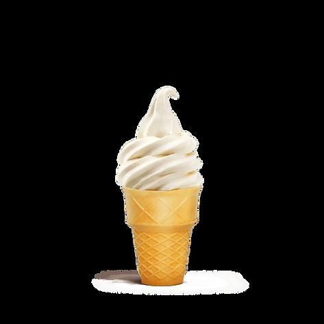 גלידה אמריקאית בגביע וופל