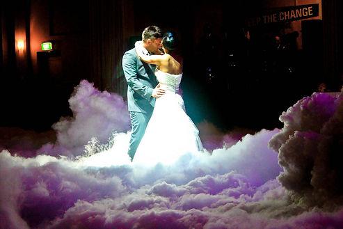 מכונת עשן כבד להשכרה לחתונה