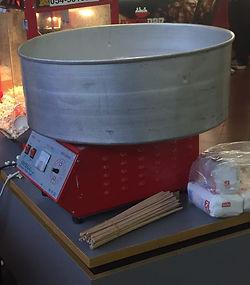 מכונת סוכר מקצועית ואיכותית