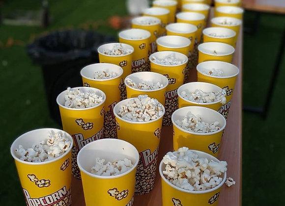 כוסות פופקורן בגודל 630 מל 50 יחידות