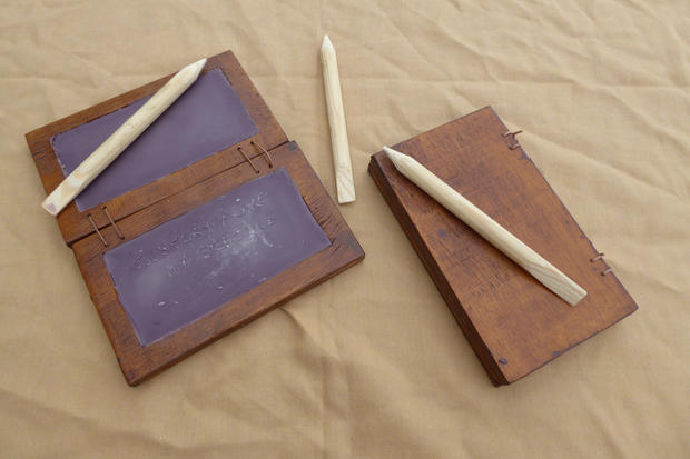 Roman Wax Writing Tablets