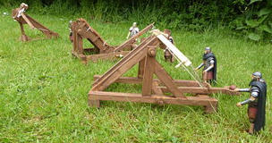 Roman Siege Engine Models