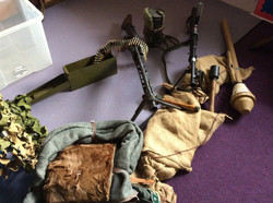 Deactivated & Replica WW2 Weapons