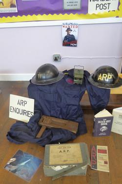 Air Raid Warden Display