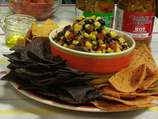 Confetti Black Bean and Corn Salad
