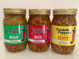 What makes Confetti Peppers different?
