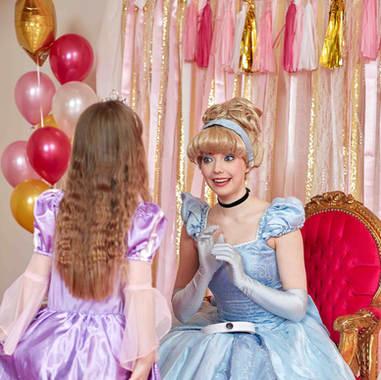 Toronto Cinderella Party, Toronto Princess Parties, Magic At My Door, Toronto Princess Birthday Party