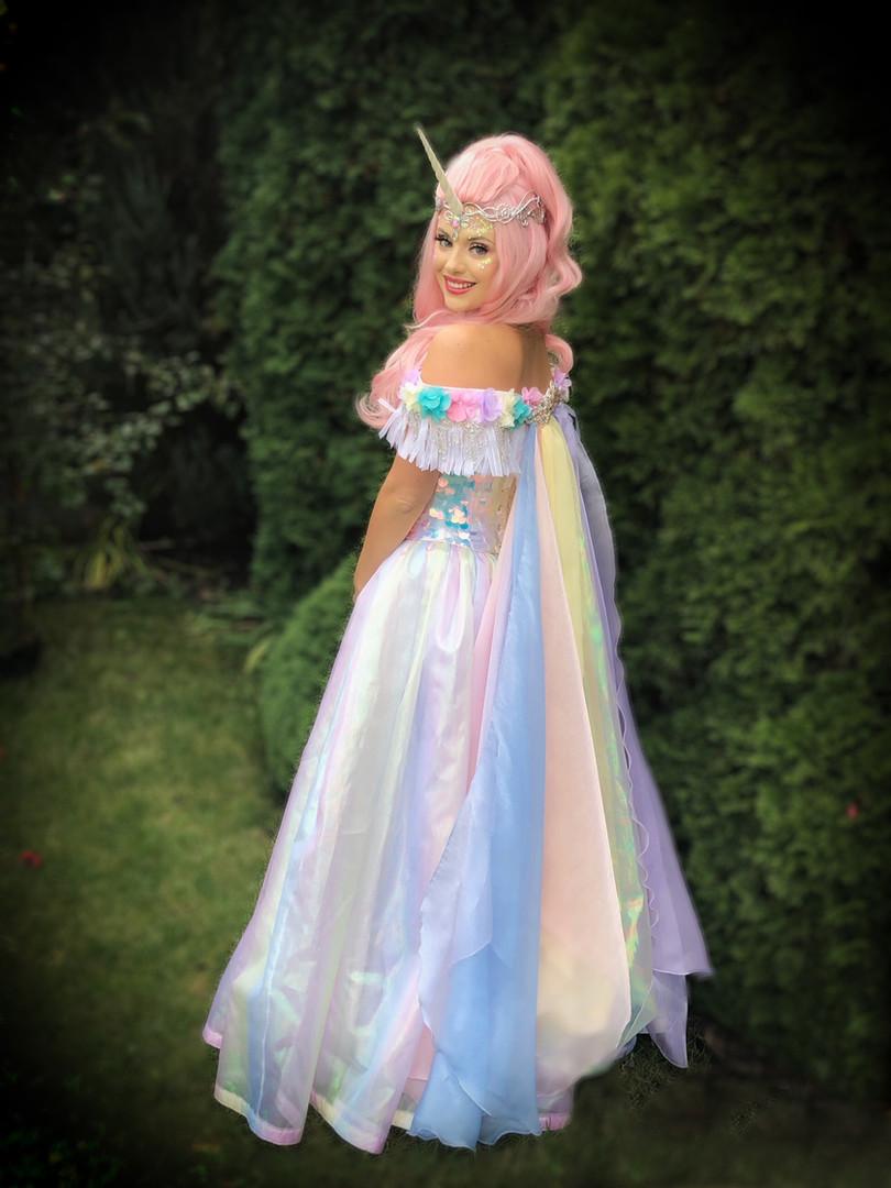 Rainbow Unicorn Princess