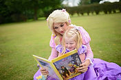 Our Glass Slipper Package includes Makeup, Games, Storytime and much more!