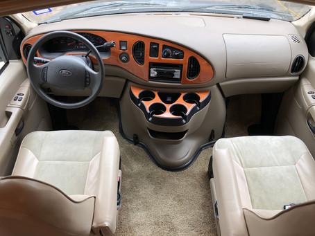 Interior Detailing on Coachmen RV Freelander