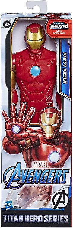Marvel Avengers Titan Hero Series Iron Man Action Figure, giocattolo da 30,5 cm