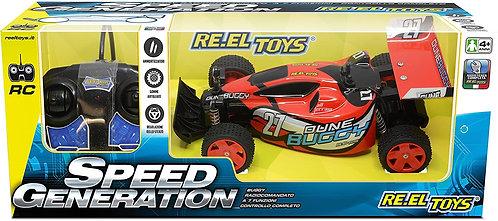 Re.El Toys Speed Genearation Rc Scala 1/18 Mezzi Giocattolo Auto, Multicolore