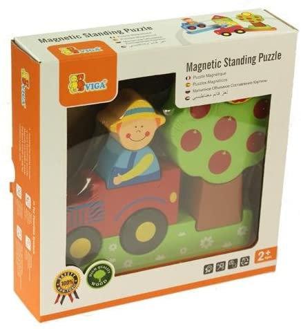 Magnetic Farm Standing Puzzle - Viga