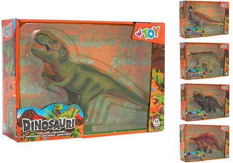Globo Giocattoli 37053 6 Dinosauri Assortiti Collection Toy