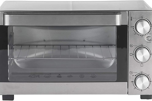 BRANDANI ventilata Forno Techno Collezione in Acciaio Inox/Vetro, Metallico