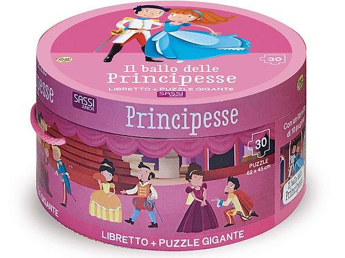 Il ballo delle principesse. Ediz. a colori. Con puzzle (Italiano)