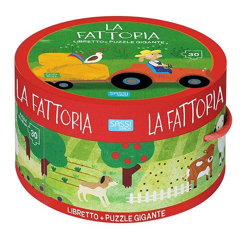 La fattoria. Ediz. illustrata. Con puzzle (Italiano) Cartonato