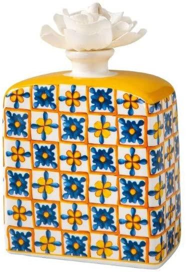 Brandani 53793 Diffusore Di Fragranza Medicea Fiore Porcellana Con Fiore