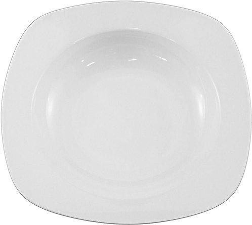 Borella Casalinghi Icona Piatto Pasta, Ceramica, Bianco